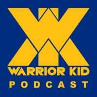 Logo du podcast 8: Warrior Kid Podcast. Ask Uncle Jake.