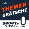 Logo of the podcast Themengrätsche: Der Sport im Osten Fußballpodcast