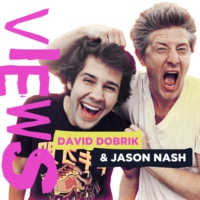 Logo of the podcast VIEWS with David Dobrik and Jason Nash