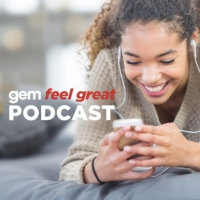 Logo of the podcast Gem Feel Great Podcast