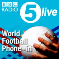 Logo du podcast World football phone in