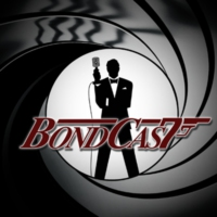 "Logo of the podcast BondCast: For Your Ears Only: ""The Man With The Golden Gun"""
