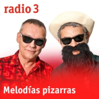 Logo of the podcast Melodías pizarras - Stars on Seventy-eight - 18/05/19