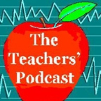 Logo du podcast The Teachers' Podcast Ep 58, We're Back- Virtually, Part 1, email: teacherspodcast@gmail.com