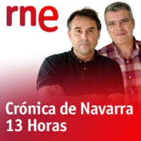 Logo of the podcast Crónica Navarra - Navarra helada de norte a sur - 18/01/17