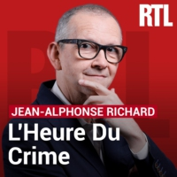 Logo of the podcast L'heure du crime