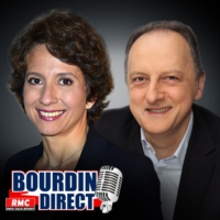 "Logo of the podcast RMC : 19/09 - Brunet & Neumann : Front national : ""Le slogan La France apaisée allait assez mal à M…"