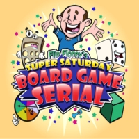 Logo of the podcast Flip Florey's Super Saturday Board Game Serial | A podcast about the fun in BoardGames