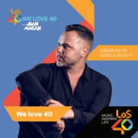 Logo du podcast 01/01/2017 We Love 40 by Juan Magan de 01:00 a 02:00