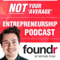 Logo of the podcast 200: Foundr's Story: How a Humble Side Project Became a Global Brand, with CEO Nathan Chan [Special…