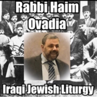 Logo of the podcast Iraqi Jewish Liturgy- Rabbi Haim Ovadia