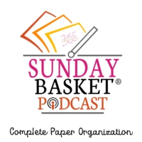 Logo du podcast Sunday Basket Paper Organization Podcast