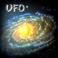 Logo of the podcast : UFO :