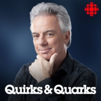 Logo of the podcast Quirks and Quarks Complete Show from CBC Radio