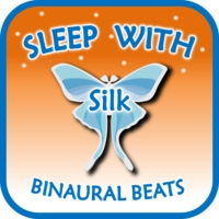 Logo of the podcast Sleep with Silk: Binaural Beats (to help insomnia, anxiety, stress, relax, focus, meditate, ASMR)