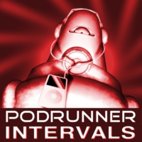 Logo of the podcast PODRUNNER: INTERVALS -- Workout music for tempo-based exercise