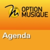 Logo of the podcast RSR - Agenda - Option Musique