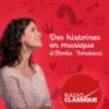 Logo of the podcast Des histoires en musique d'Elodie Fondacci