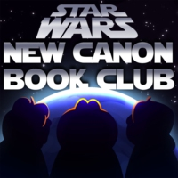 Logo of the podcast Star Wars: New Canon Book Club