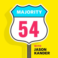 Logo of the podcast Majority 54