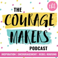 Logo of the podcast The Couragemakers Podcast