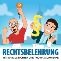 Logo of the podcast Rechtsbelehrung 74 – Musterfeststellungsklage vs. Legal Tech
