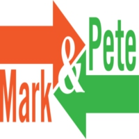 Logo of the podcast Mark and Pete
