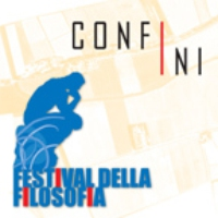 "Logo of the podcast Festival della Filosofia 2007 ""Confini"""