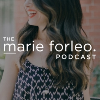 Logo of the podcast The Marie Forleo Podcast