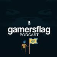 Logo du podcast GamersFlag Porte Drapeau Episode 11 Nintendo Direct, FPS et Fallout 4 HD