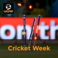 Logo of the podcast Cricket Week podcast