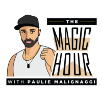 Logo of the podcast The Magic Hour with Paulie Malignaggi