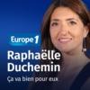 Logo of the podcast Ça va bien pour eux - Raphaëlle Duchemin