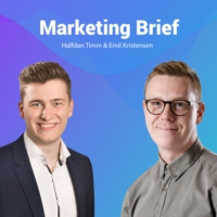 Logo du podcast Marketing Brief - Et podcast om Online Marketing
