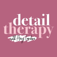 Logo of the podcast Detail Therapy with Amy Landino