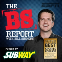Logo of the podcast B.S. Report - Greg Wyshynski and Alan Sepinwall: 4/13/15