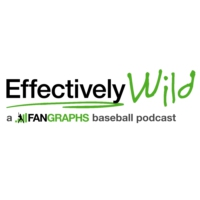 Logo of the podcast Effectively Wild: A FanGraphs Baseball Podcast