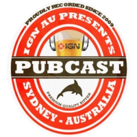 Logo of the podcast IGN AU Pubcast