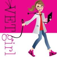 Logo of the podcast Intravenous catheter updates in veterinary medicine with Amy Newfield, CVT, VTS | VETgirl Veterinar…