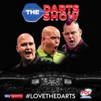 Logo of the podcast MVG, Cross, Wade & Gurney live from the O2 for a Premier League Finals special