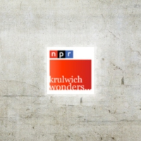 Logo du podcast NPR: Hmmm....  Krulwich on Science Podcast