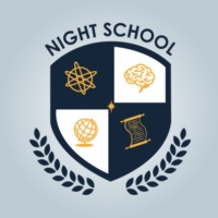 Logo du podcast BFM :: Night School