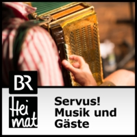 "Logo of the podcast Volksmusikfest ""Dousamma"""