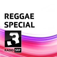 Logo of the podcast SRF zeigt Flagge: Andrew Robinson (JAM) im Reggae Special