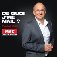 Logo du podcast RMC : 30/09 - De quoi jme mail - Batteries explosives : Un Iphone 7 Plus a pris feu aux USA