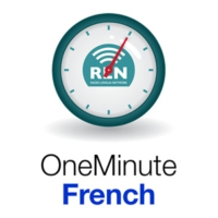 Logo of the podcast One Minute French