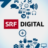 Logo of the podcast SRF - Digital Podcast