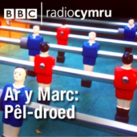 Logo of the podcast Ar y Marc: Pêl-droed