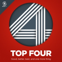 Logo of the podcast Top Four 2: TV Shows