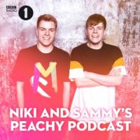 Logo of the podcast Niki and Sammy's Peachy Podcast